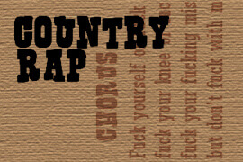 Country Rap, HipHop, Country Songs, Gedichte, Liebeslieder